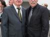 Verleihung des Estrongo Nachama Preis am Dr. Rudolf Seiters; Laudator Christian Wulff ( Foto: u.a. mit Wulff, Seiters, Dr. Andreas Nachama)